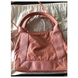 Balenciaga-Balenciaga Navy Cabas XS pink-Pink