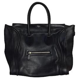 Céline-Céline GM luggage handbag-Dark blue