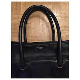 Céline-Céline GM luggage handbag-Dark blue