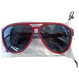 Louis Vuitton-Oculos escuros-Vermelho