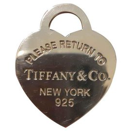 Tiffany & Co-Anhänger halsketten-Silber