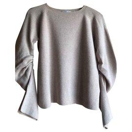 Helmut Lang-Knitwear-Beige