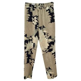 Dries Van Noten-Pantalons, leggings-Multicolore