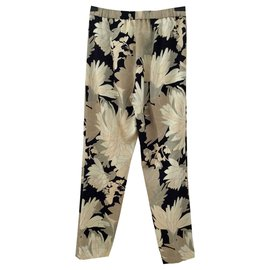 Dries Van Noten-Pantalons, leggings-Multicolore