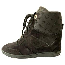 Louis Vuitton-Baskets compensées Millenium-Noir