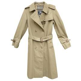 Burberry-vintage Burberry trench 36-Khaki