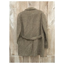 Autre Marque-Dunn & Co coat in Harris Tweed-Brown