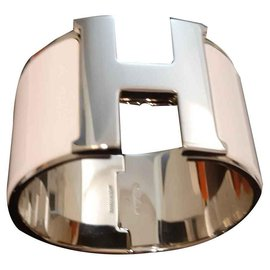 Hermès-Hermes Armband Klick H-Weiß