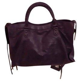 Balenciaga-Handbags-Purple