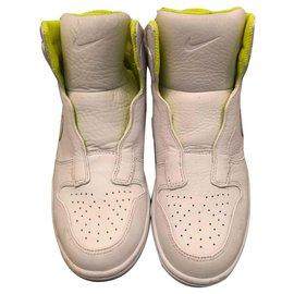 Nike-DUNK LUX - Nike X SACAI-White,Yellow