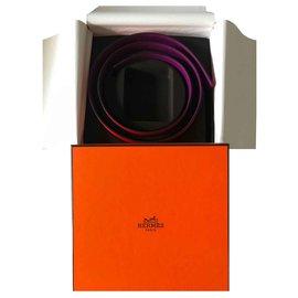 Hermès-Konstanz 32MM WENDEGURT CAPUCINE / ANEMONE 95-Andere