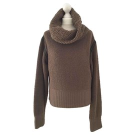 Hermès-Knitwear-Brown