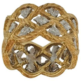"""Buccellati-Buccellati ring, """"Starry"""", two golds.-Other"""