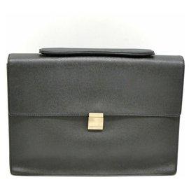 Louis Vuitton-Sacoche Louis Vuitton Taiga-Gris