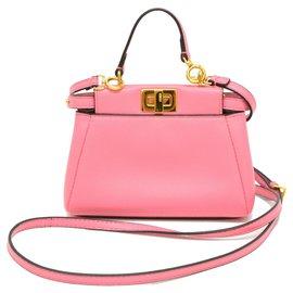 Fendi-Fendi mini peekaboo-Pink