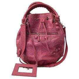 Balenciaga-New Balenciaga Pompon-Pink