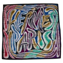 Hermès-A LA PLUME-Multicolore