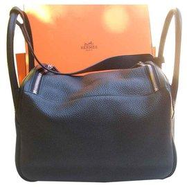 Hermès-lindy 30-Black