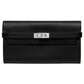 Hermès-Kelly Classic-Black