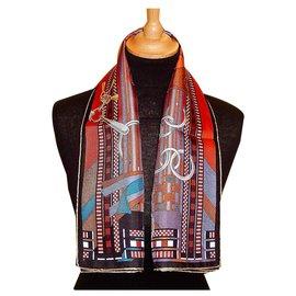 Hermès-BRIDES et GRIS GRIS-Multicolore