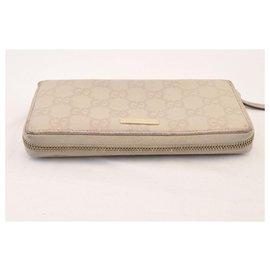 Gucci-Gucci long wallet-Grey