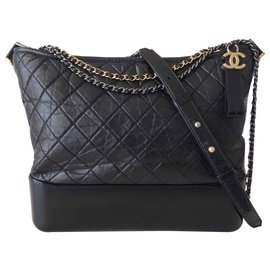 Chanel-CHANEL GABRIELLE BAG-Black