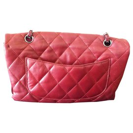 Chanel-Classic Timeless-Red