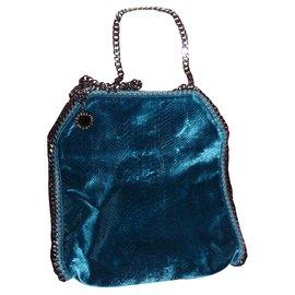 Stella Mc Cartney-falabella bag-Blue