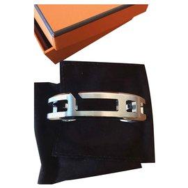 Hermès-Manschette spielen-Silber