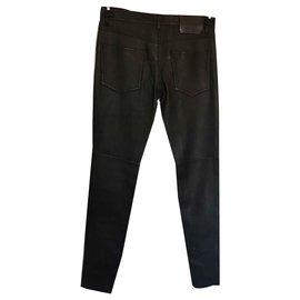 Gucci-Jean cuir-Noir