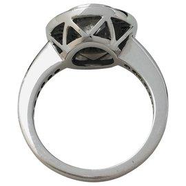 inconnue-Ring aus Weißgold, Diamant 1,06 Karat.-Andere
