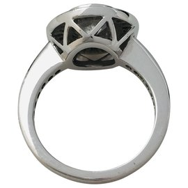 inconnue-White gold ring, diamond 1,06 carat.-Other