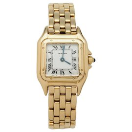 """Cartier-Cartier Uhrenmodell """"Panther"""" in Gelbgold.-Andere"""