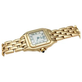 """Cartier-Cartier watch model """"Panther"""" in yellow gold.-Other"""