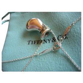 Tiffany & Co-Flasche von Peretti für Tiffany & Co geöffnet.-Silber