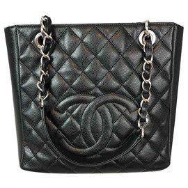 Chanel-Shopping-Black