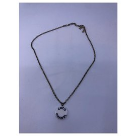 Chanel-Halskette Chanel-Schwarz,Weiß