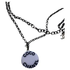 Chanel-Necklace Chanel-Black,White