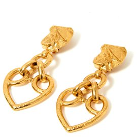 Yves Saint Laurent-Herzanhänger-Golden