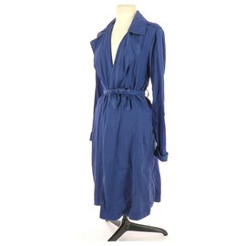American Vintage-Trench-Bleu Marine