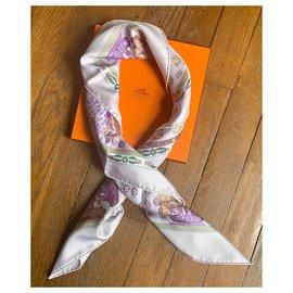 Hermès-Oceane treffen-Lila,Creme,Lavendel