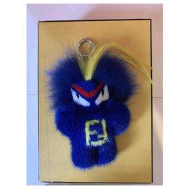 Fendi-Fendirumi Bug-Kun-Bleu,Jaune