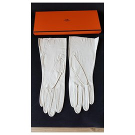 Hermès-Gloves-Cream