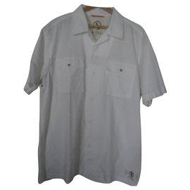 Aigle-chemises-Blanc