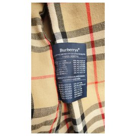 Burberry-vintage Burberry trench 38-Beige