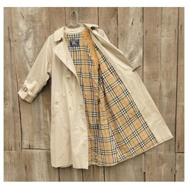Burberry-vintage Burberry trench 36-Beige