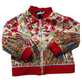 Dolce & Gabbana-Manteaux de garçon-Multicolore