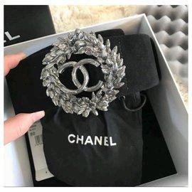 Chanel-Ceinture en daim noir Chanel 80cm-Noir
