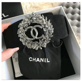 Chanel-Chanel black suede belt 80cm-Black