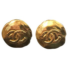 Chanel-Ohrringe Chanel-Golden